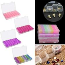 28 pcs Grid Electronic Parts Jewelry Bead Storage Box Crafts Organizer Container