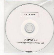 (BK637) Real Fur, Animal - DJ CD