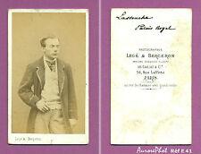 CDV LEGÉ & BERGERON : LASSOUCHE, ACTEUR COMÉDIEN THÉÂTRE PALAIS ROYAL Réf E 41