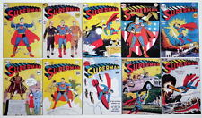 """(10) SUPERMAN COMICS 2"""" x 3"""" COVER MAGNETS - Superman #11-20"""