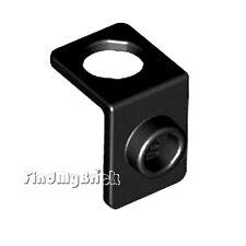 D223A Lego Minifig Neck Bracket w/ Back Stud -Black NEW