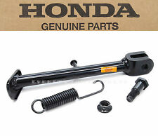 New Genuine Honda Side Kick Stand Assembly 04-12 CRF50F OEM Parts W/ Spring #Z79