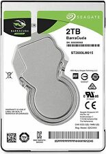 "Seagate BarraCuda 2TB 2.5"" SATA Internal Laptop Hard Drive HDD 5400RPM 128MB"