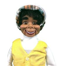 Lester Super Deluxe Upgrade Ventriloquist Dummy Doll Moving Eyes & Brows