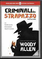 WOODY ALLEN - CRIMINALI DA STRAPAZZO (2000)  DVD EX NOLEGGIO  CECCHI GORI - RARO