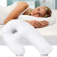Side Sleeper U-Shaped Pillow Sleep Buddy Orthopaedic Back Neck Support Protect
