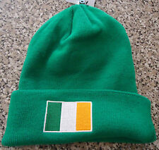 IRELAND COUNTRY FLAG BEANIE HAT [ GREEN ]