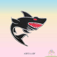 Shark Fish Disney Embroidered Iron On Patch Sew On Badge
