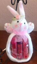 Avon Easter Lip Balm Gift Set~Cherry~Bubble Gum~Strawberry~ Hard To Find