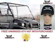 Kawasaki Mule Pro FXT Scratch Resistant FULL Windshield With Free Hat!!!