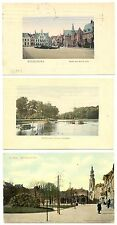 NEDERLAND 1911/1912  3 x AK = MIDDELBURG =  MEEST PR EX