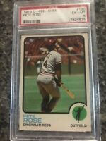 1973 O Pee Chee 130 Pete Rose PSA 6 EX/MT