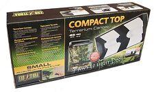 Exo terra 45cm canopy terrarium vivarium dual light compact top PT2226