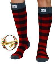 PudusWomen's Warm Tall Boot Socks (W 6-10), Fleece-Lined Knee High Winter Socks