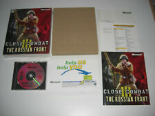 CLOSE COMBAT III THE RUSSIAN FRONT Pc Cd ORIGINAL BIG BOX - Fast , Secure Post