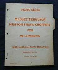Massey Ferguson Mf 35 50 60 70 72 82 90 92 Combine Hesston Straw Parts Catalog