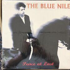 Rock LP: THE BLUE NILE Peace At Last ORIGINAL WARNER Release 1996 Black Vinyl LP