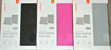 Cygnett Flexi Folding Folio Case Cover Stand for iPad Air, Sleep/Wake Function