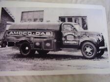 1946 STUDEBAKER MI6  AMOCO TANKER  TRUCK 11 X 17  PHOTO  PICTURE
