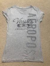 Aeropostale Grey T-shirt Size L
