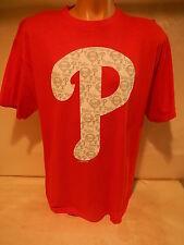9601-14 Mens Majestic PHILADELPHIA PHILLIES Multi Baseball Jersey Shirt RED
