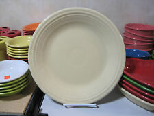 Fiestaware Dinner Plate in Ivory Homer Laughlin Fiesta