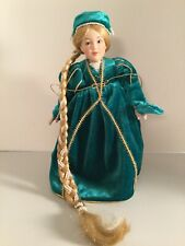 "Danbury Mint ""The Storybook Doll Collection� ""Rapunzel�"
