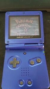 Game Boy Advance SP - Blu - Carica batterie incluso (LEGGERE DESCRIZIONE)