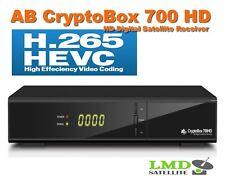 AB CryptoBox 700 HD Satellite receiver Full HD H.265 HEVC 1080p IPTV FastScan