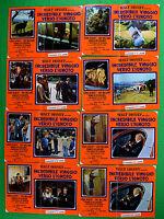 G93 Lot Fotobusta Erstaunliche Reisekit NACH Unbekannter Walt Disney Ray Milland