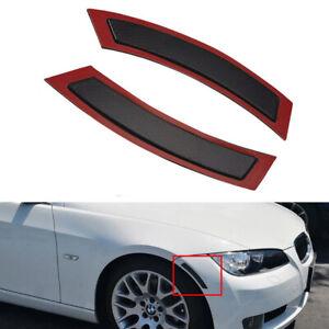 2x Front Bumper Reflector Side Marker Light Fits BMW 328i/xi 335i E93 2007-2013