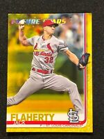 Topps Walgreens Yellow Parallel Jack Flaherty St. Louis Cardinals Future Stars