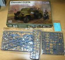 Chevrolet C15TA (incl. PE & decals, 2x camo) von IBG in 1/72