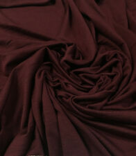 Bamboo Tencel Spandex Jersey Knit Fabric Ecofriendly HighEnd Fabric Maroon 10 oz
