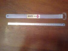 REGLETTE PLATE METAL SOUPLE  30cm  ( COUTURE, LOISIR CREATIF, MERCERIE )