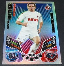 SASCHA RIETHER 1. FC KÖLN TOPPS PANINI FOOTBALL BUNDESLIGA 2011-2012