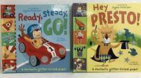 2 x Children's Pop Up Books - By Sue Harris / Ingela Peterson - 2003 - Hardbacks