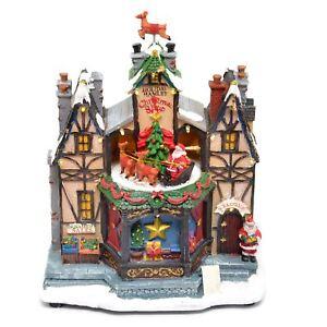 Christmas Holiday Shop Decoration Nativity LED Sculpture Home Party Centerpiece
