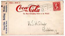 RARE & Early Coca-Cola Advertising w/ 1902 Philadelphia PA Flag CCL