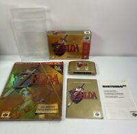 Legend of Zelda Ocarina of Time Gold Collector's Edition (N64) CIB & Prima Guide