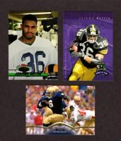 Jerome Bettis Football Cards (3) Card Lot