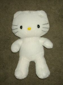 ORIGINAL  BUILD-A-BEAR' WHITE HELLO KITTY' 18 INCH SIZE' CLEAN-FREE SHIP