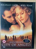 City of Angels DVD 1998 Wings of Desire Remake with Meg Ryan and Nicolas Cage
