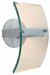 Access Lighting 50511 Chrome / Clear Single Light Ambient Lighting Wall Sconce