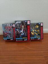 Transformers Studio Series Bumblebee B-127, Dino, Starscream 3 Lot
