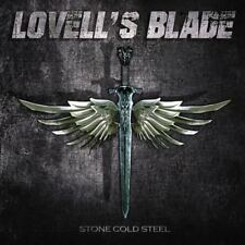 LOVELL´S BLADE- Stone Cold Steel CD import ex PICTURE singer ala THE RODS/SAXON