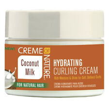 CREME OF NATURE COCONUT MILK HYDRATING CURLING CREAM 11.5OZ SHINE CURL DEFINING