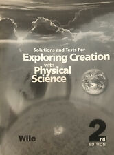 Apologia Exploring Creation With Physical Science 2nd Ed. Solutions & Tests