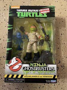 TMNT Teenage Mutant Ninja Turtles Ghostbusters Michelangelo As Venkman Sealed