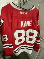 Chicago Blackhawks Patrick Kane #88 Reebok Home Red Jersey New Size 56